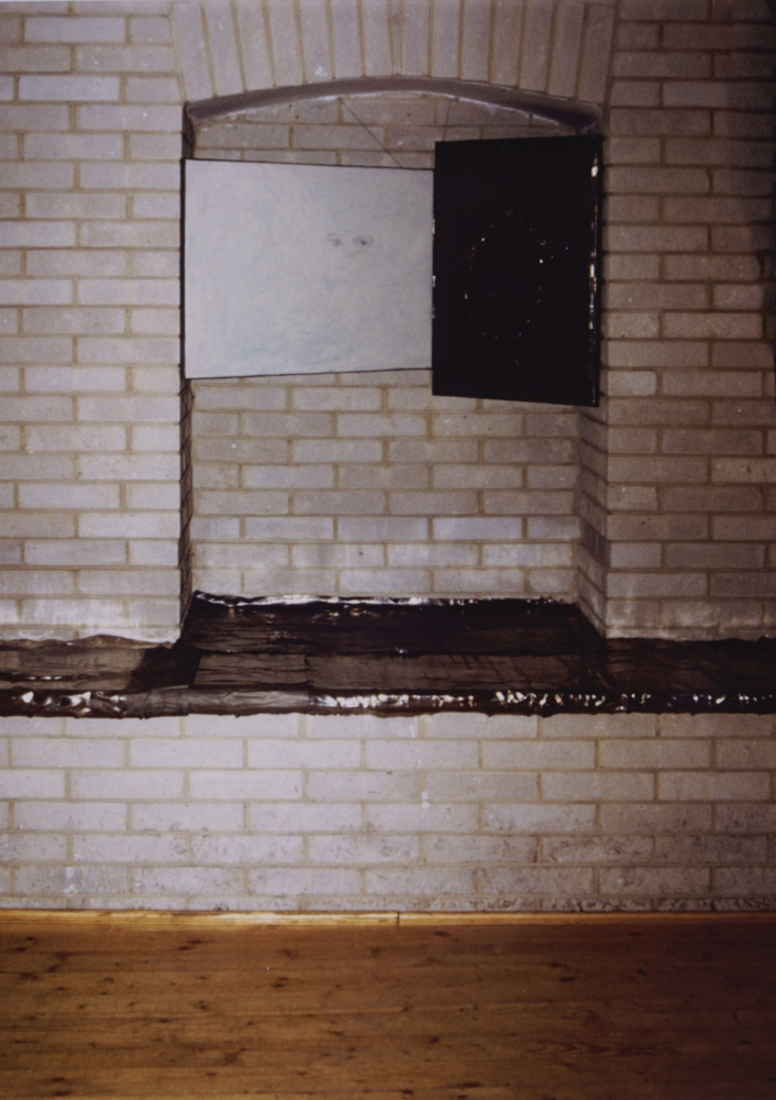 attila szucs, installation view, 1992