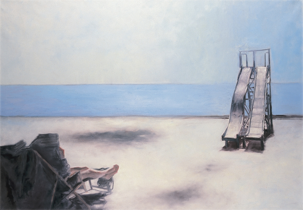 without title o.c. 140x200cm 1997 2slipway