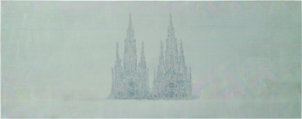 doubled cathedral o,c. 56x140,5cm. 2005