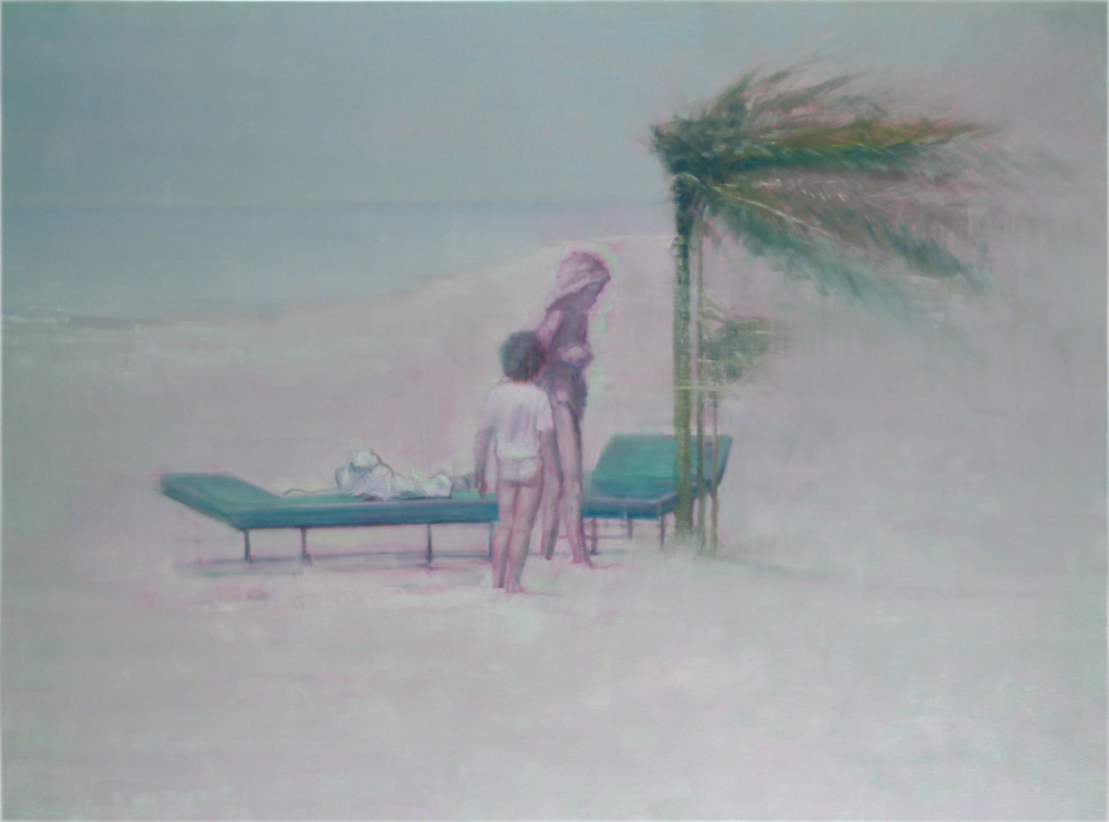 windy seashore o,c. 150x200cm. 2005