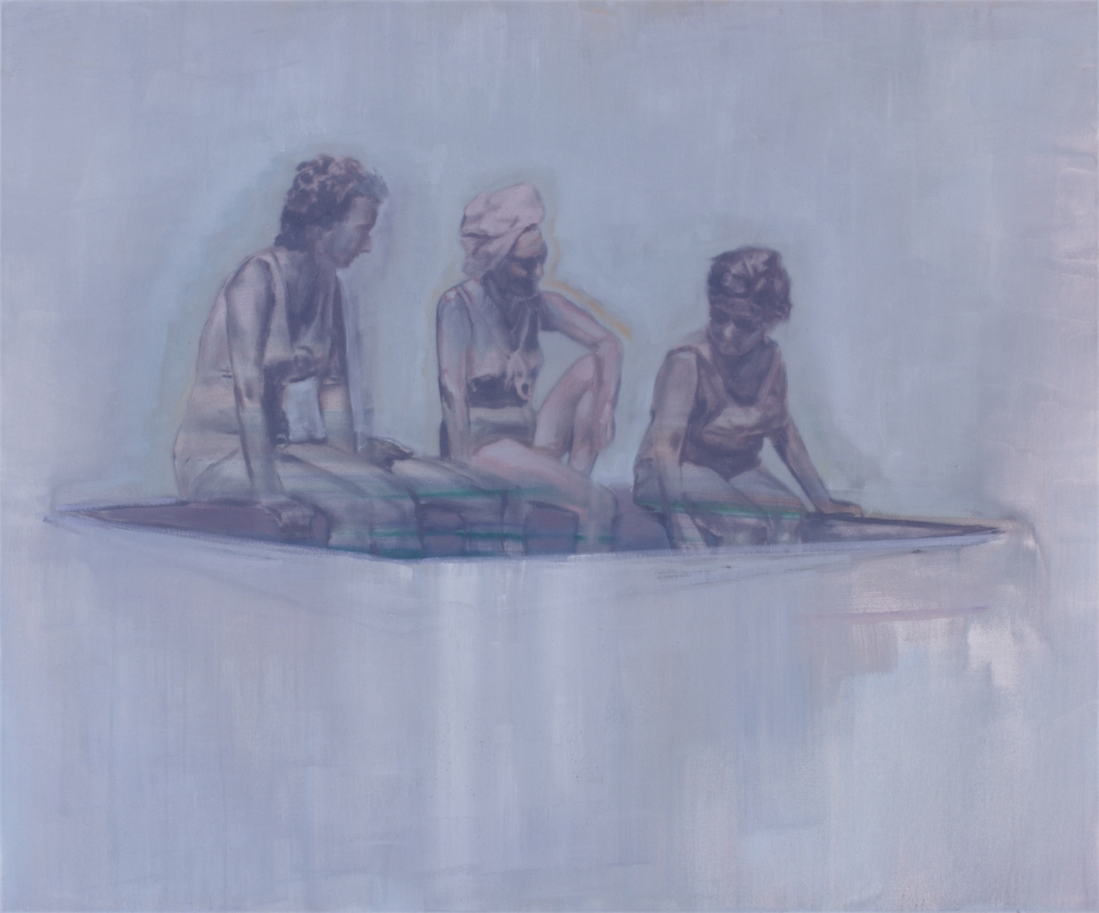 three women o,c. 100x120cm. 2009