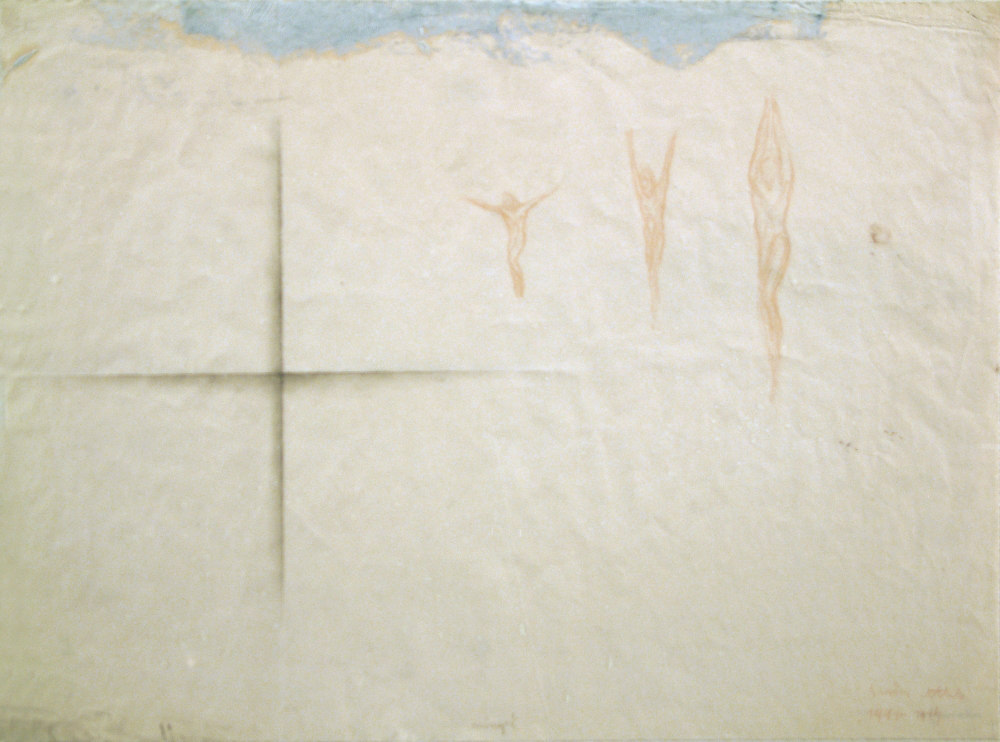 cross, jumper, paper, mix. tech. A3 1991