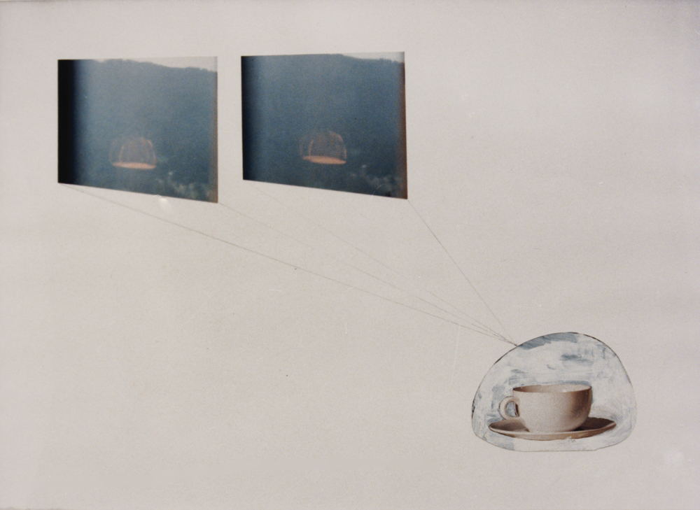 attila szucs, untitled, paper, mix. tech. 30x42cm. 1992