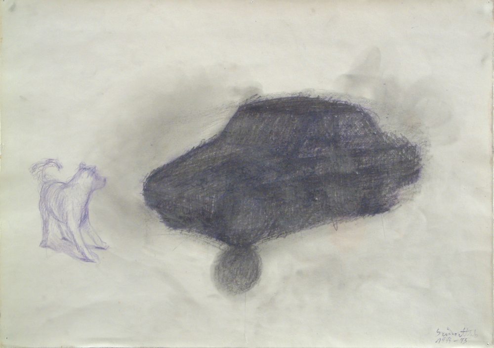 without title, paper, 30,5x43cm. 1994-95