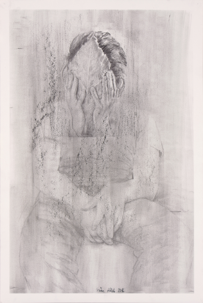 Drawing, graphite on paper, 42x29,5cm 2016 02 09