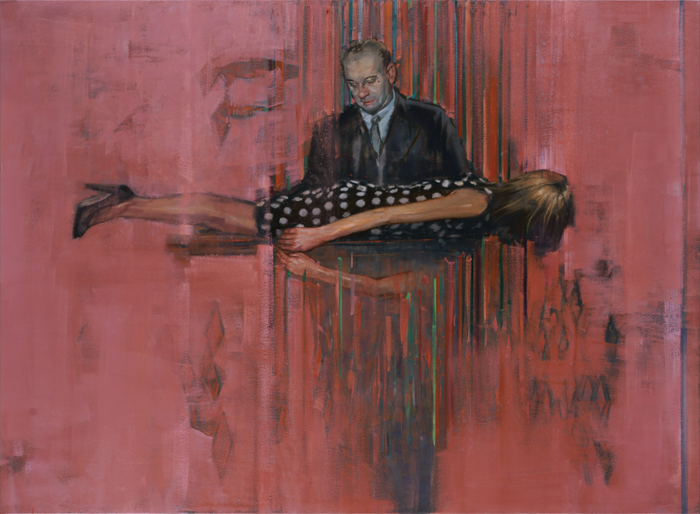 quiz show, oil on canvas, 140x190cm. 2012-16