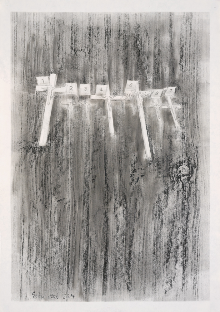 Drawing, graphite on paper, 42x29,5cm 2017 09 29