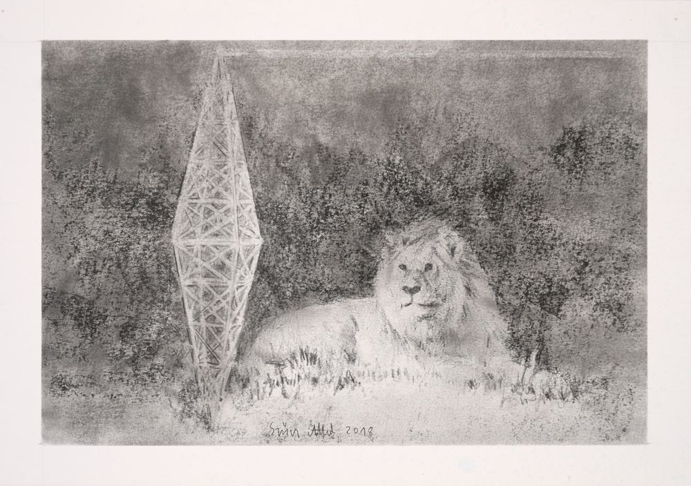 Drawing, graphite on paper, 22x31,5cm 2018 02 26